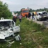 Boyabat -Taşköprü Yolunda Feci Trafik Kazası, 1 Ölü, 1 Ağır Yaralı…