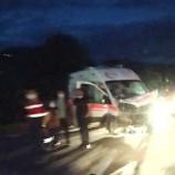 Boyabat- Hanönü Arası Ambulans Kazası…