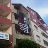 Bakan Soylu'ya Türkeli'den Destek Pankartı…