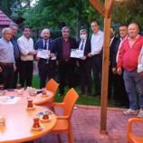 Ankara Uluslararası Batıkaradeniz Birliği (ANKA-BİR) Ve Sinoplular Federasyonu (SİNOP-FED) İn Organizesi İle Veda Programı Başkent Öğretmenevinde yapıldı..