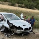 Boyabat Emek Tuğla Önünde Trafik Kazası, 1 Yaralı…