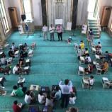Başkan Çakıcı Yaz Kur-an Kursu Öğrencileri İle Camide Buluştu…