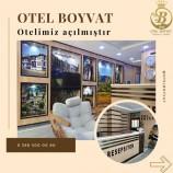 Boyabat'ta – Boyvat Otel Hizmete Açıldı…