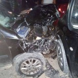 Dört Otomobil Biri Birine Girdi, Cana Gelmedi Mala Geldi, Ağır Maddi Hasar Var…