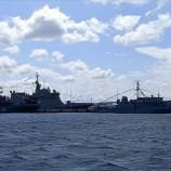 Savaş Gemileri Sinop İskelesi'ne Demirledi …