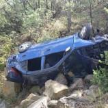 Otomobil Uçuruma Yuvarlandı: 6 Yaralı…