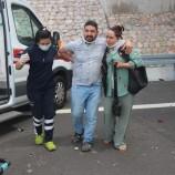 Gurbetçi Aileye Bayram Zehir Oldu,  1'i Çocuk 5 Yaralı…
