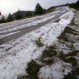 Temmuz Ayında Durğana Kar Yağdı..