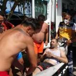 Sinop'ta dayı ve yeğeni boğulma tehlikesi geçirdi…