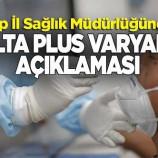 Sinop'ta 'delta plus varyantı' açıklaması…