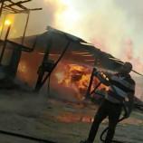 Saraydüzü Sabaha Alevlerle Uyandı, Fabrikada Yangın…