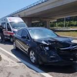 İki Otomobil Kafa Kafaya Çarpıştı:2 Yaralı…