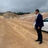 İl Genel Meclis Üyesi Rıdvan Mete Bürnük Şantiyesini Ziyaret Etti…