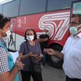 Covid-19 hastası kadın otobüs yolculuğunda yakalandı…