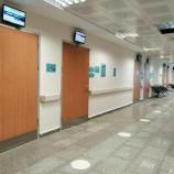 Temizlik Bitti, Ayancık Devlet Hastanesi Poliklinik Hizmetleri vermeye başladı.