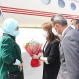 Cumhurbaşkanı Recep Tayyip ERDOĞAN'ın eşi  Emine ERDOĞAN Sinop'ta