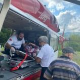 Ayancık ve Türkeli Sel Bölgesinde Ambulans Helikopter Görevine Devam Ediyor…
