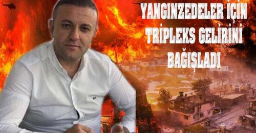 Gerzeli İş İnsanı Hüseyin Yüksek, Antalya'nın Manavgat İlçesinde Çıkan Orman Yangını Sonrası Bağışta Bulundu….