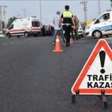 Boyabat İtfaiye Kavşağında Feci Trafik Kazası , 4 Yaralı…