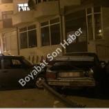 Boyabat Hal yerinde trafik kazası…