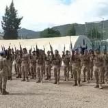 Sinop'ta selde görev alan komandolar ant içerek ayrıldı…
