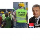 CHP Durağan İlçe Başkanlığı Basın Açıklaması…