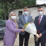 Yeni Boyabat Kaymakamı Enver YILMAZ Belediyeyi Ziyaret Etti…