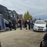 Sinop'a Yolcu Taşıyan Otobüs İle TIR'ın Çarpıştı, Faciadan Dönüldü…