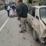 Boyabat Yeni Mahallede Trafik Kazası , 1 Yaralı…