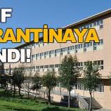 Bir Okulda 2 Öğrenciden Fazla Pozitif Çıkması Nedeniyle Bir Sınıf Karantinaya Alındı….