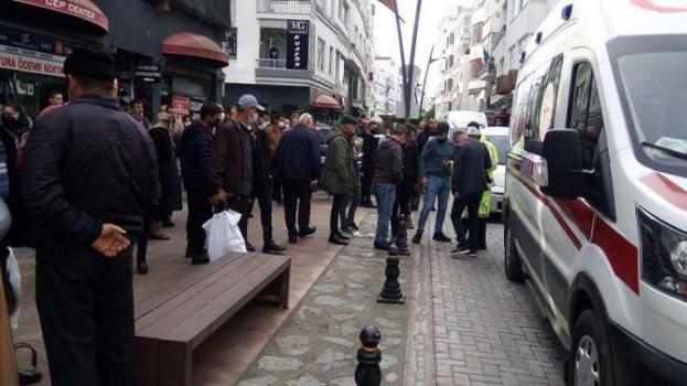 Sokak Ortasında Silahlı Kavga , 1 Yaralı …