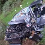 Otomobil Şarampole Uçtu , 3 Yaralı…