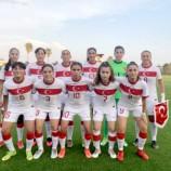 U17 Kız Milli Takımı, Romanya ile 2-2 berabere kaldı…