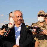 Mehmet Ersoy Kotanlarla Diyarbakır-Lice Şehit Turan Üst Bölgesinde