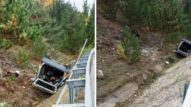 Çalpınar Köyü Muhtarı Trafik Kazası Geçirdi, 1 Ölü 3 Yaralı