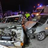 İki Otomobilin Çarpıştığı Kazada 6 Kişi Yaralandı…